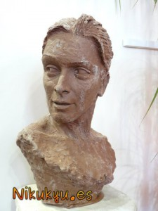 Busto de chocolate