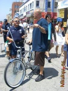 Bici Harley apañada