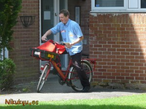 Mike riding his bike (poetry)